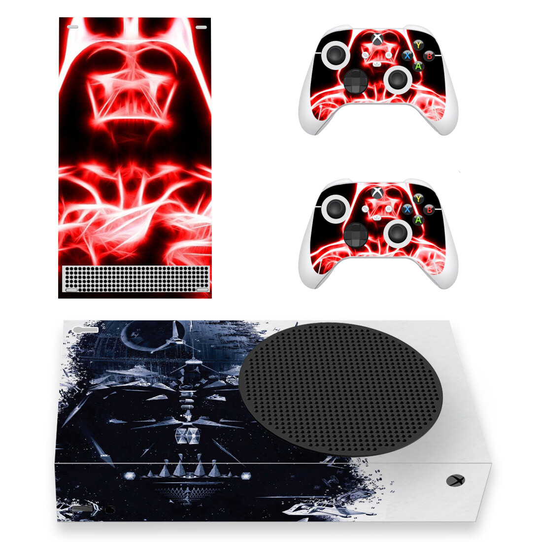 Darth Vader Skin Sticker For Xbox Series S And Controllers