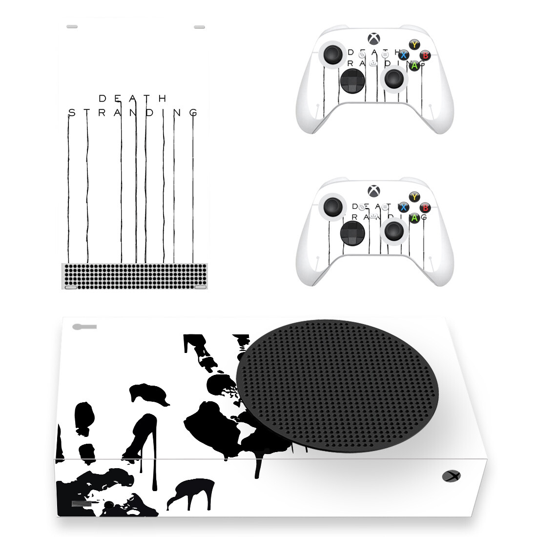 Death Stranding Skin Sticker For Xbox Series S And Controllers