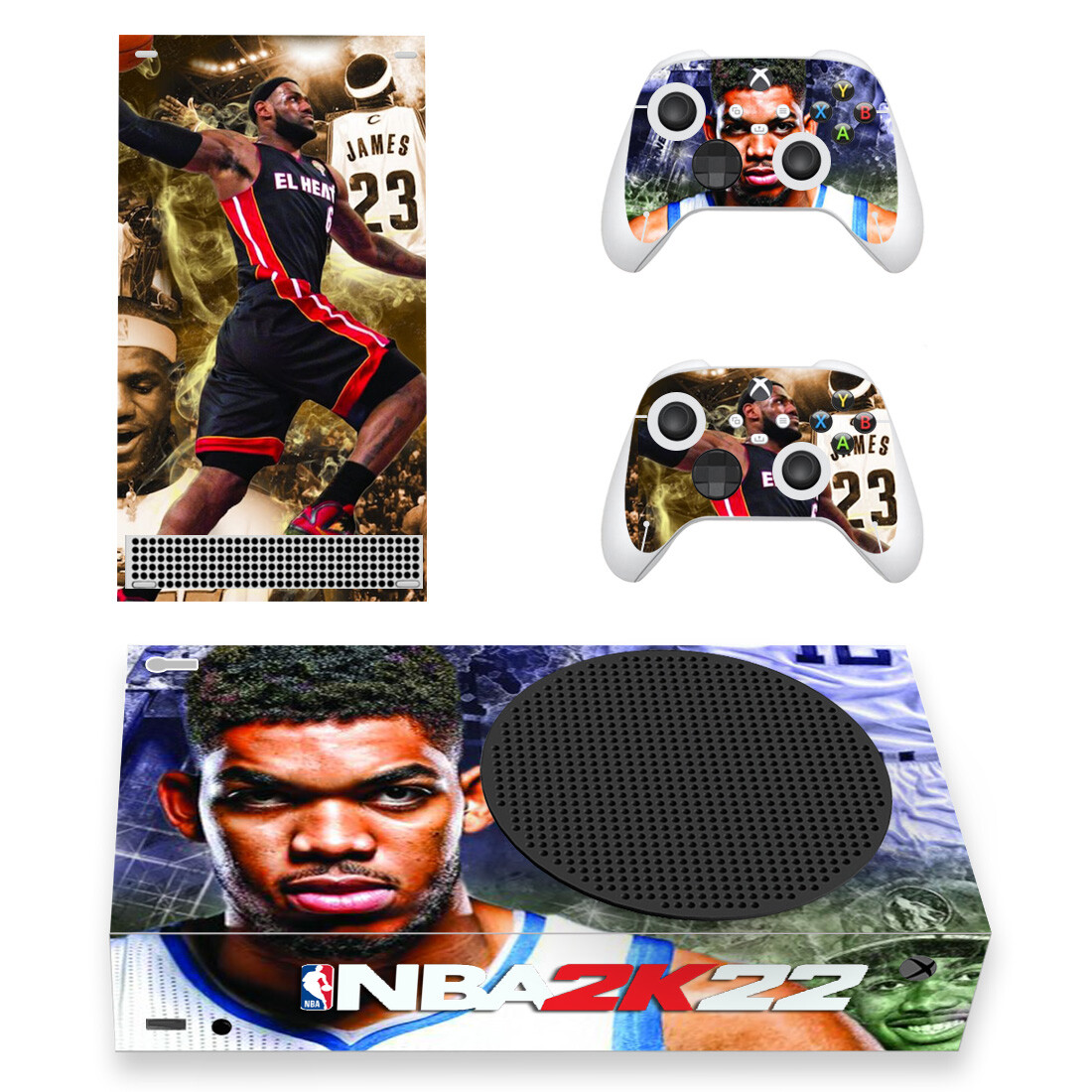 NBA 2K22 Xbox Series S Skin Sticker Decal