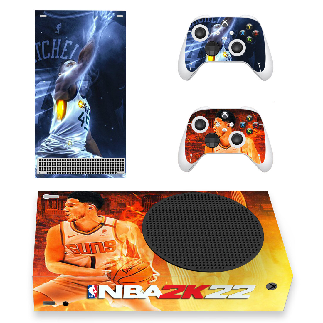 NBA 2K22 Skin Sticker For Xbox Series S And Controllers