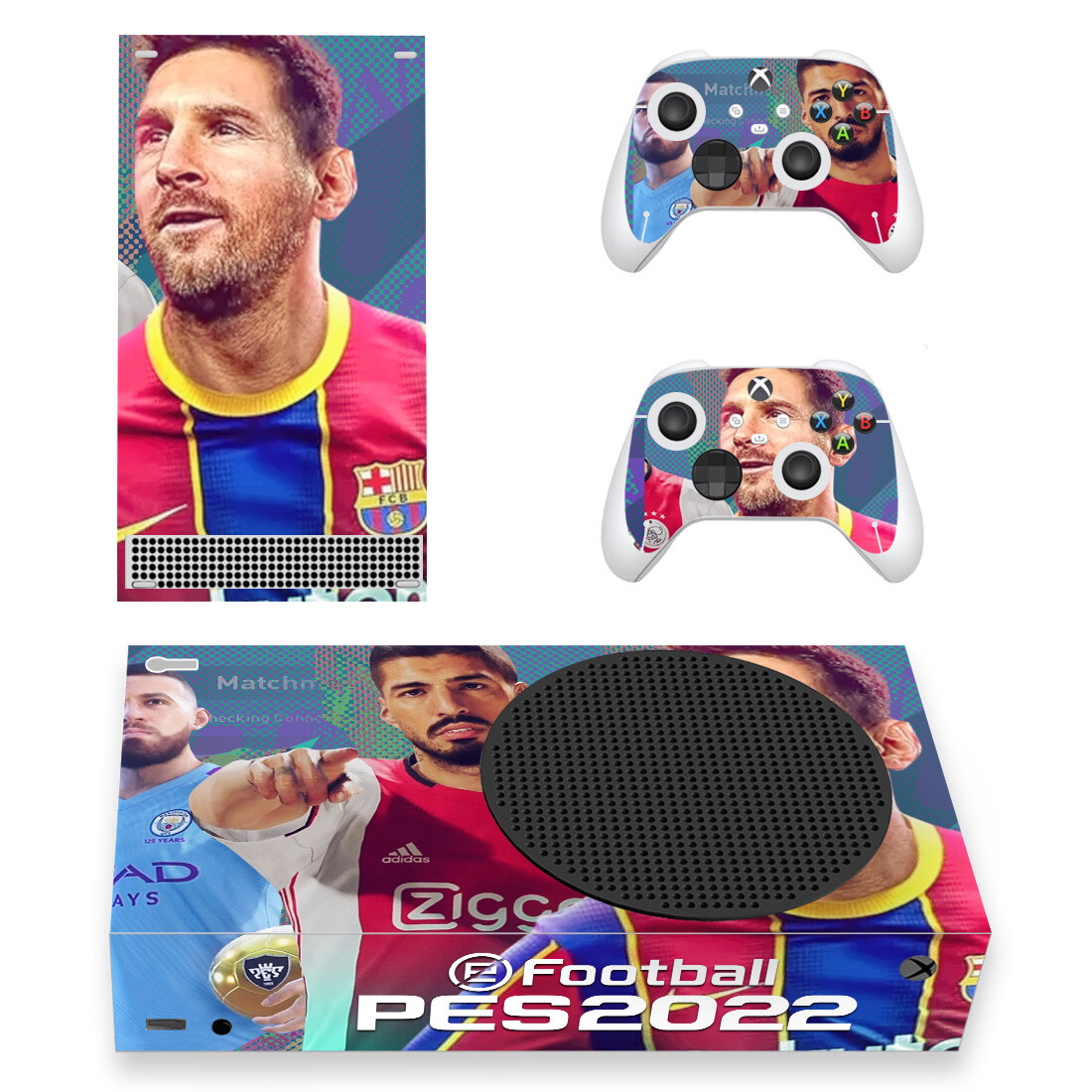 eFootball PES 2022 Skin Sticker Decal For Xbox Series S