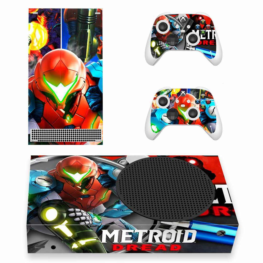 Metroid Dread Skin Sticker For Xbox Series S And Controllers