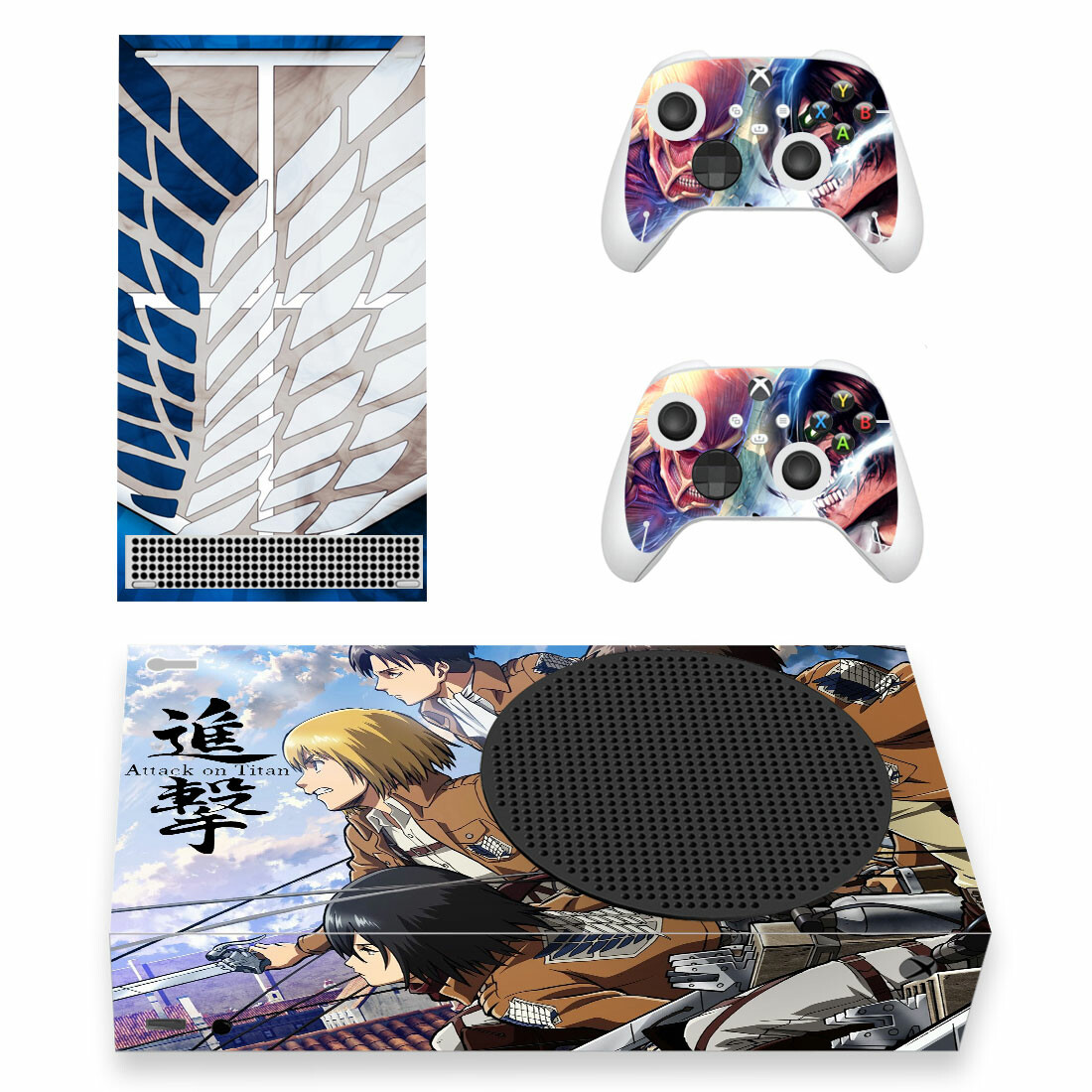 Attack On Titan Skin Sticker Decal For Xbox Series S