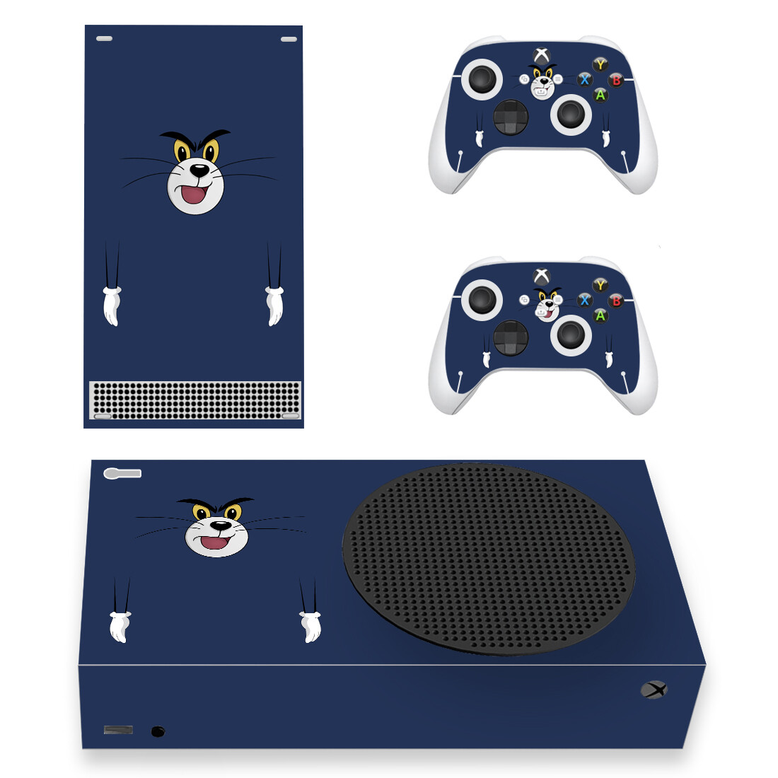 Tom And Jerry Skin Sticker Decal For Xbox Series S