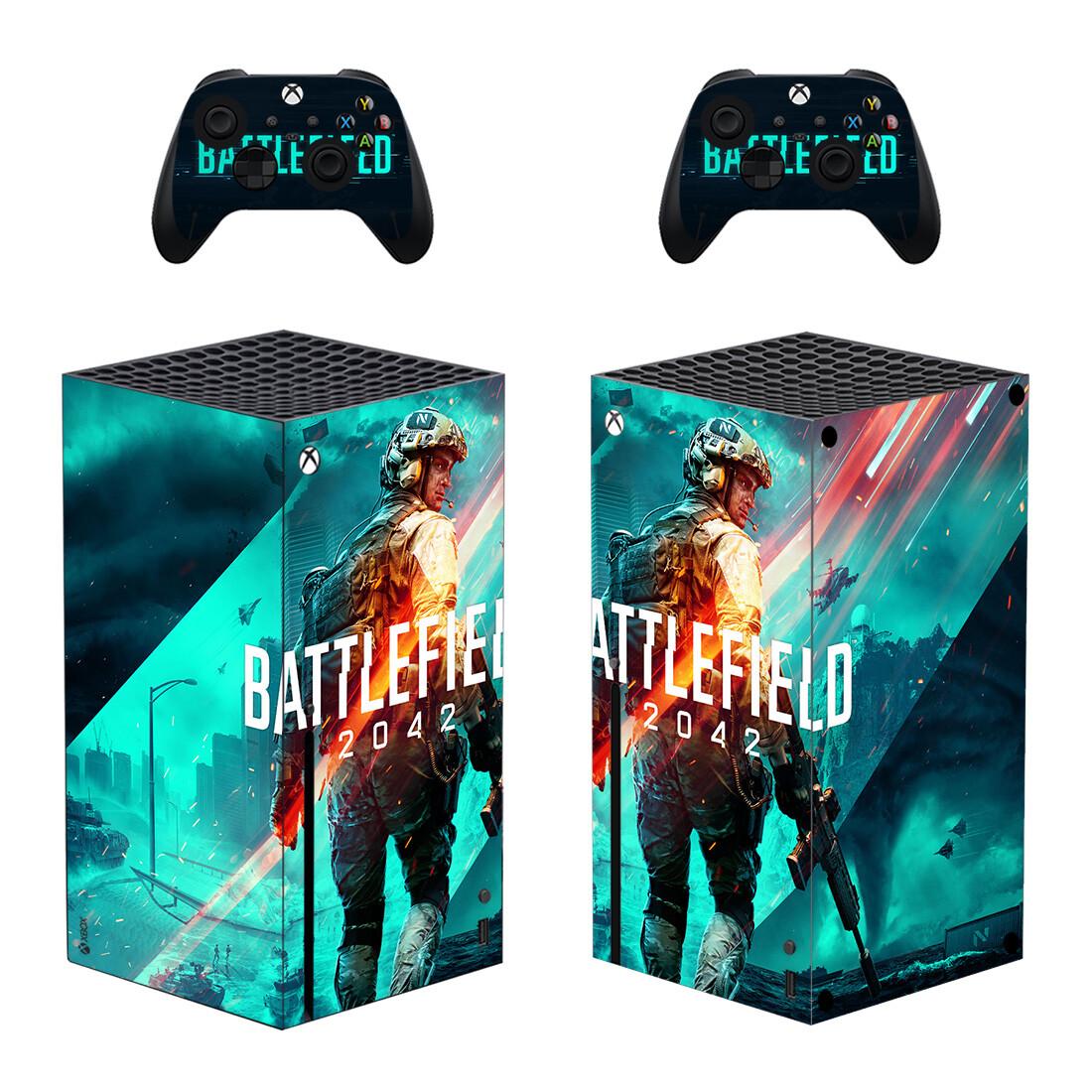 Battlefield 2042 Xbox Series X Skin Sticker Decal