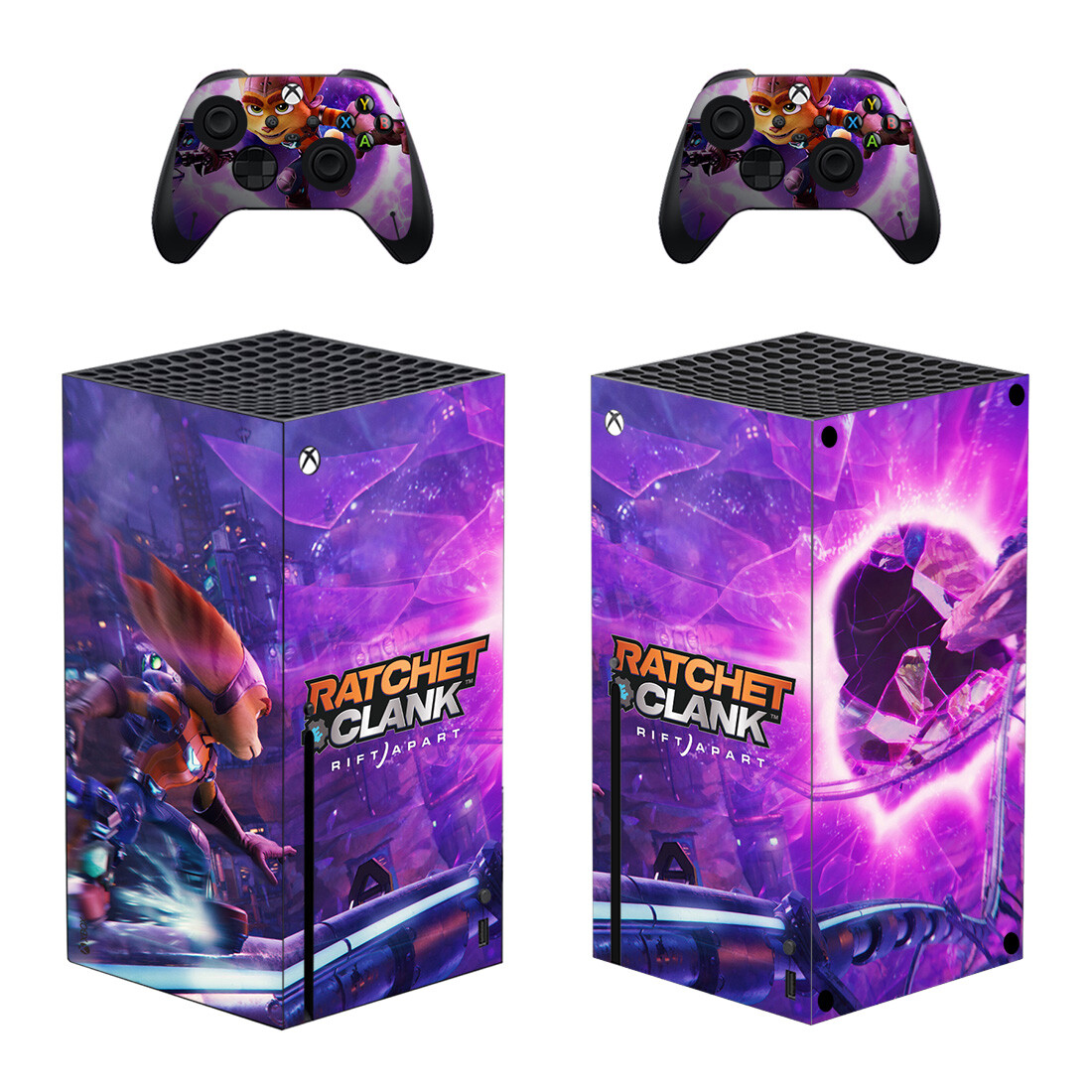 Ratchet And Clank Skin Sticker For Xbox Series X And Controllers