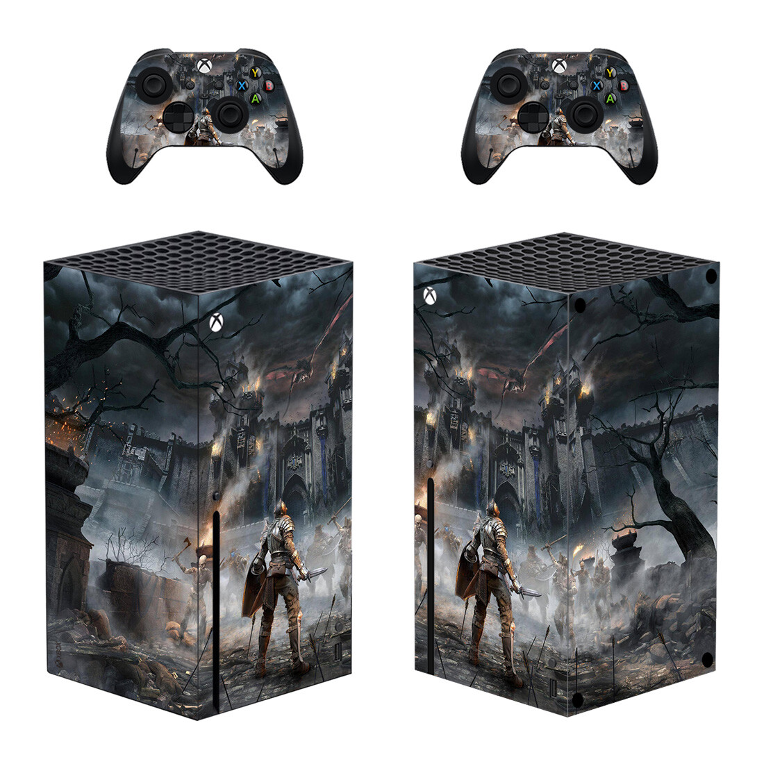 Demon's Souls Skin Sticker For Xbox Series X And Controllers